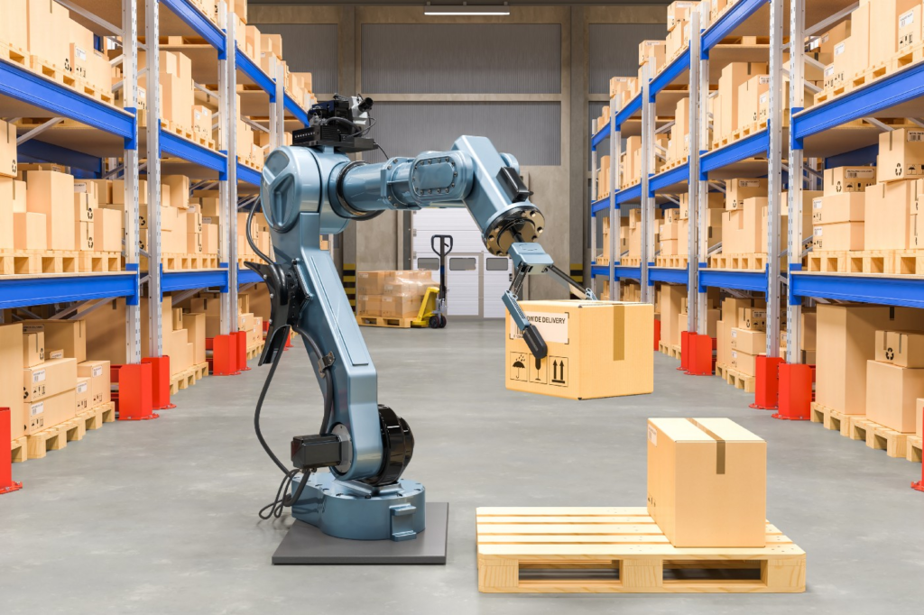 Types of warehouse robotic