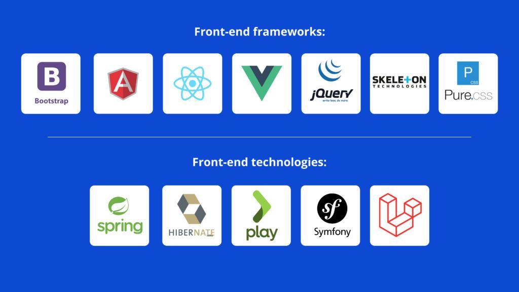 frontend frameworks