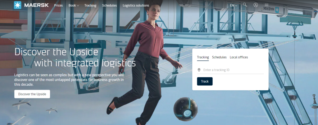 Maersk suggests tapping the growth potential of logistics