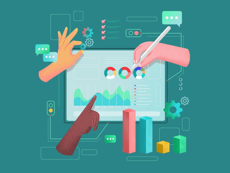 metrics illustration