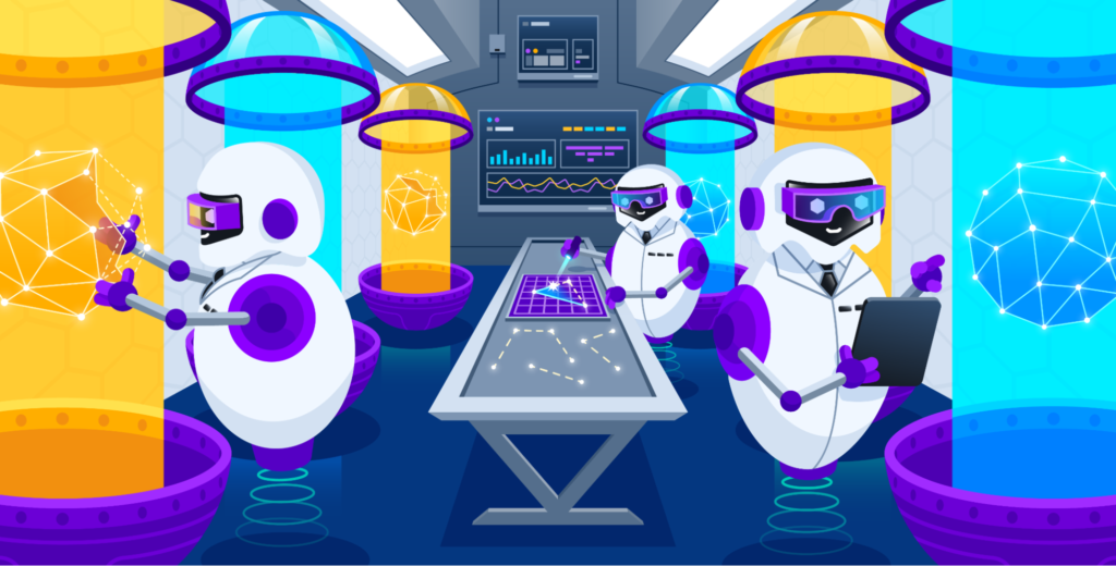 A hero illustration explaining synthetics testing best practices