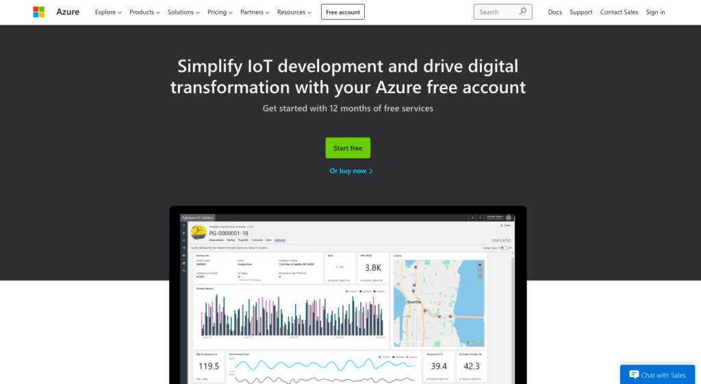 Azure IoT development solution